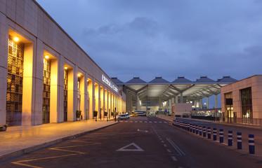 Costa del Sol airport in Malaga, Spain