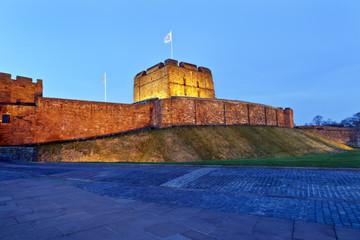 Carlisle Castle at Night