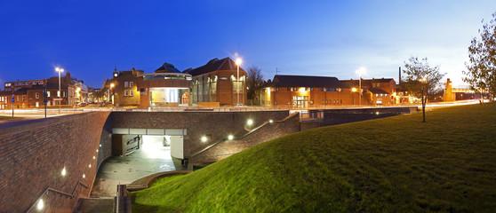 Panoramic Carlisle at Night