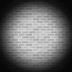 Vintage gray brick wall