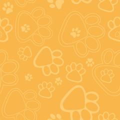 Paw Prints Background