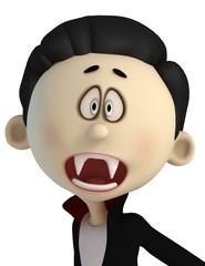 vampire cartoon in ahhh