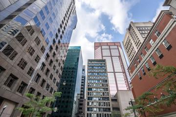 Foto op Canvas Sydney Édifices à Bureau de Montreal