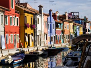 Isola di Burano - Venezia,Italia