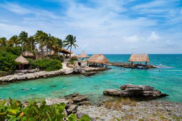Poster de jardin Caraibes Mayan Riviera Paradise