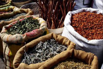 In de dag Kruiden Israel Travel Photos - Markets