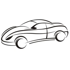 Wall Mural - car logo