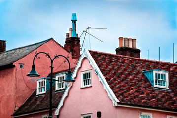 Roof tops of Lavenham
