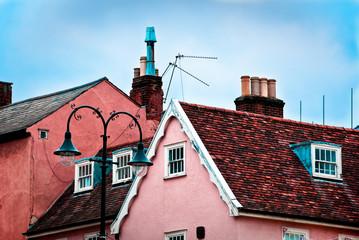 Roof tops of Lavenham