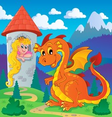 Poster Castle Dragon topic image 2