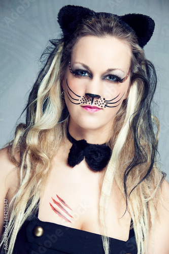 Fasching Katze Stockfotos Und Lizenzfreie Bilder Auf Fotolia Com