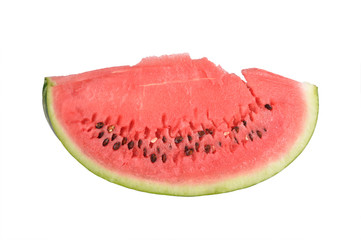 The segment of a water-melon