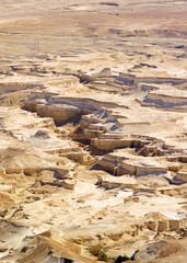 Desert in Israel - view from Masada