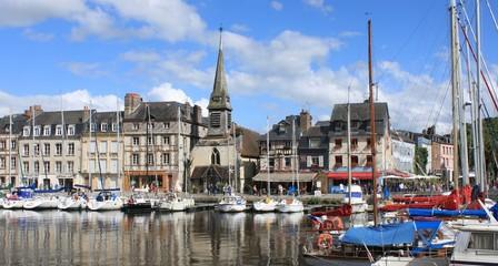 Vieux Bassin in Honfleur Fototapete