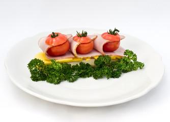 Unusual sandwich