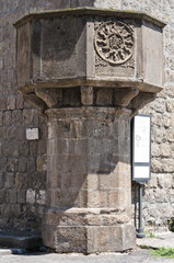 Basilica of St. Francesco alla Rocca. Viterbo. Lazio. Italy.