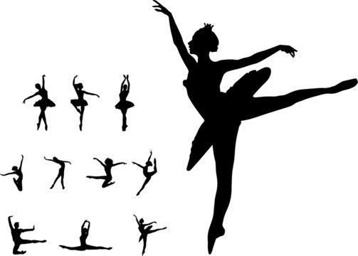 Set dance girl ballet