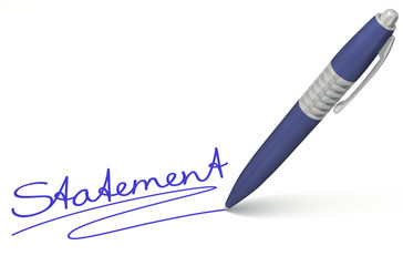Stift- & Schriftserie: Statement