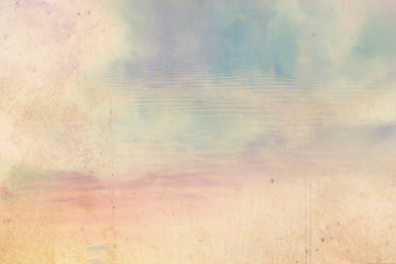 Dreamy sky background with stains