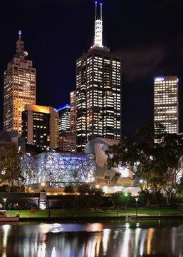 Skyline von Melbourne