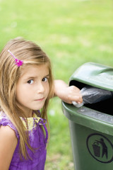 child  participate in recycling