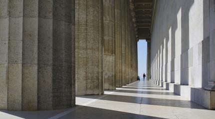 Fotografie im Tempel der Säulen
