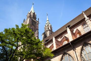 St. Lorenz Church Nuremberg Bavaria Germany