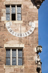 sun clock Nuremberg Bavaria Germany