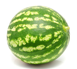 Water melon isolated on a white