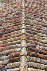 Détails de toitures de Rocamadour