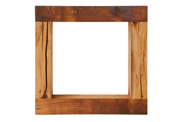 Handmade oak tree mirror frame