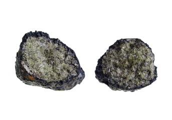 Volcanic Bomb/Olivine. Origin: Lanzarote