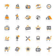 25 Web Icons - Travel & Vacation