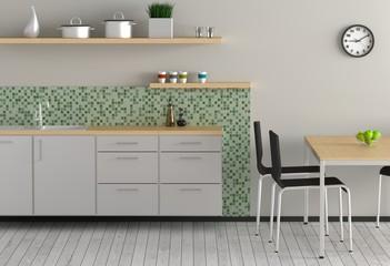 Küche - Grün