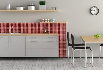 Küche - Rot