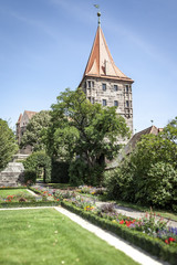 Castle of Nuremberg Bavaria Germany