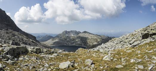 Alpine lake in the Italian Alps,Adamello Park