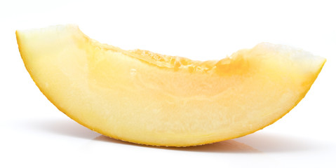 Slice of melon isolated