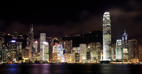 Foto op Plexiglas Hong-Kong Hong Kong, skyline