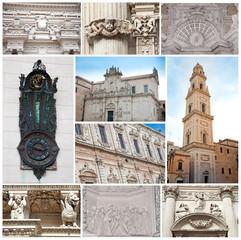 Arte Barocca a Lecce, Baroque art in Lecce - Italy
