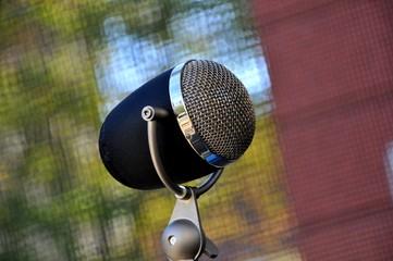 Altes Mikrofon