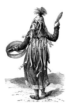 Traditional Siberian/Mongolian Priest : Shaman