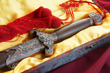 Chinese sword for fitness dancing