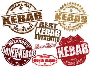 Kebab stamps