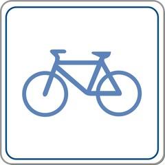 panneau vélo
