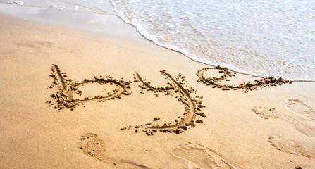 Bye in the beach