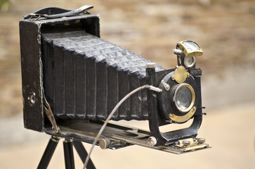 Antique Old photo Camera