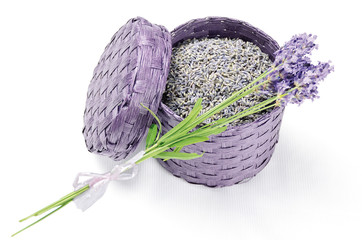 dry Lavender in box (getrockneter Lavendel in Box)