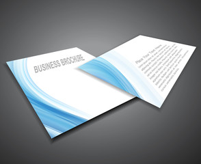 abstract Professional business  corporate brochure design presen