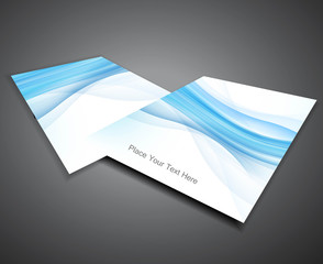 abstract Professional business brochure design presentation Vect